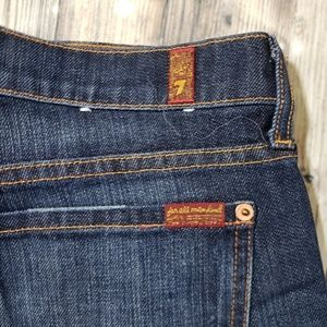 7 For All Mankind Jeans - 7FAM Dark Wash Jeans Size 32